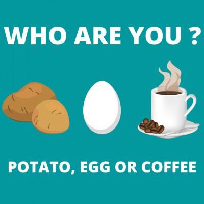 WHO ARE YOU, POTATO, EGG OR COFFEE ? | SHORT STORY | BILLIONAIRE MINDSET |