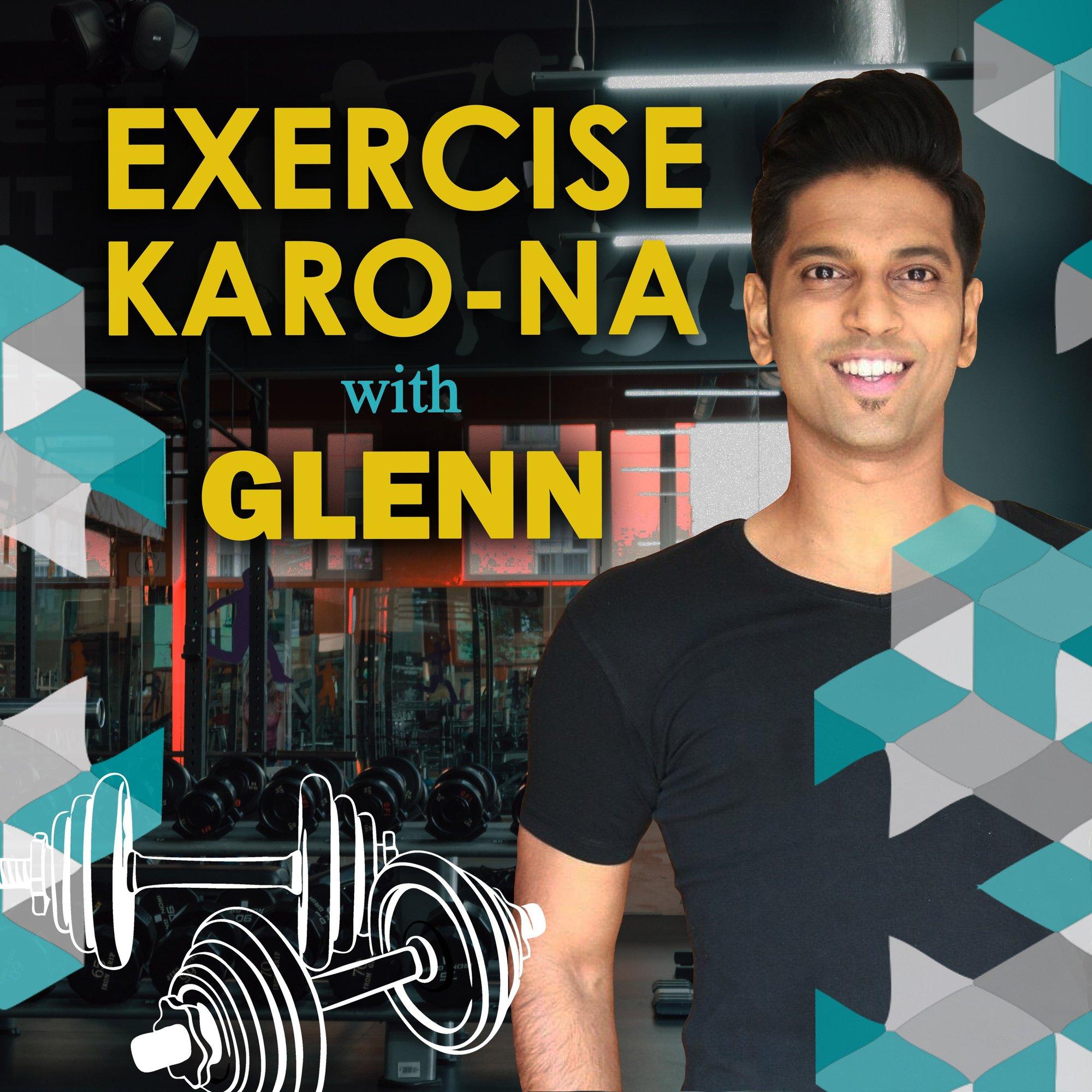 Exercise Karo Na with Glenn  