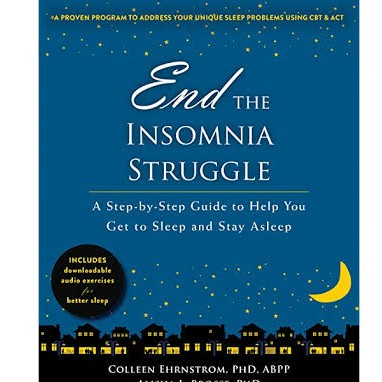 End the insomnia struggle |