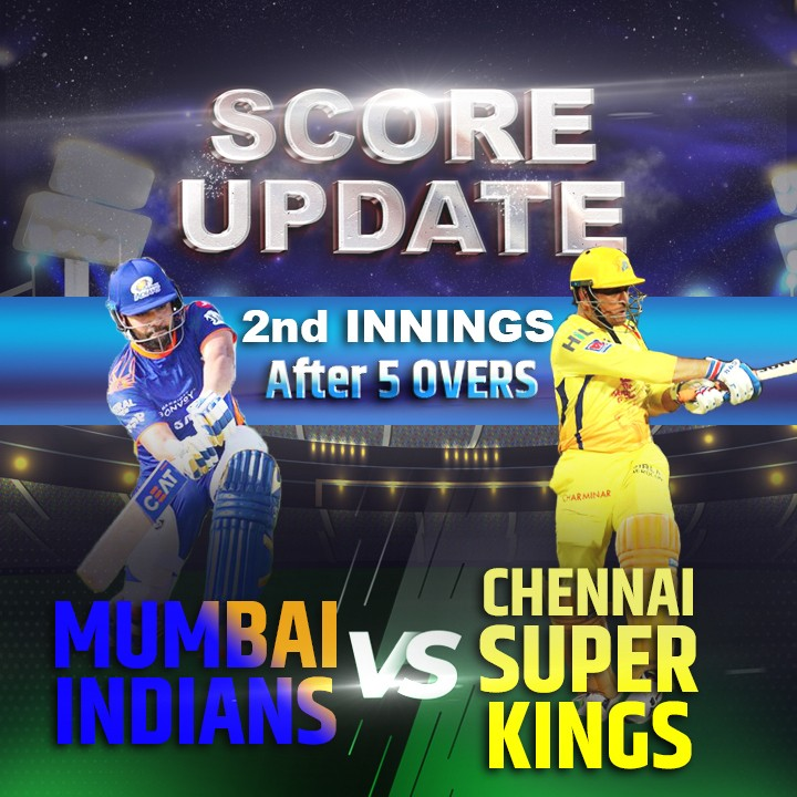 2nd Innings - 5 Overs