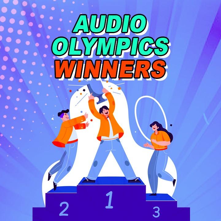 Audio Olympics - Day 02 - Winners