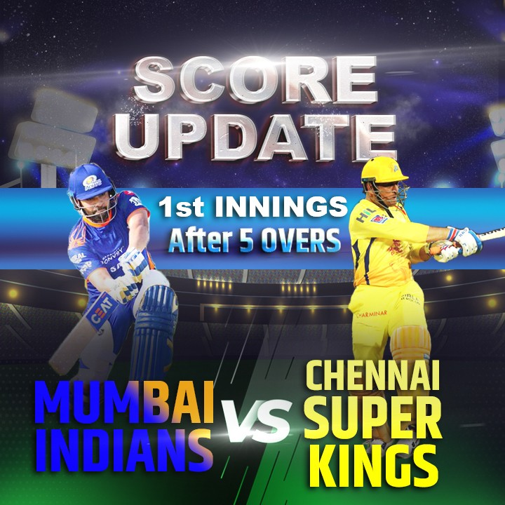 1st Innings - 5 Overs